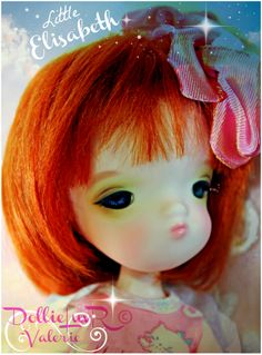 "My DARLING Secretdoll Person 17 BJD, ""Little Elisabeth"" (aka ""Little Betty"").... Memorial Tribute Doll to my Dear Mother.  0:-)"
