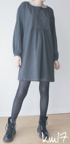 stylish dress book - dress G. Need yds for tunic length.maybe 3 yds or so for dress length? Stylish Dress Book, Stylish Dresses, Clothes Crafts, Sewing Clothes, Japanese Sewing Patterns, Make Your Own Clothes, Dress Making Patterns, Up Girl, Handmade Clothes