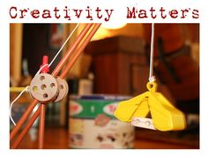 "{Awesome Free eBook} I was going through my inbox when I found this awesome download: Creativity Matters. Check it out... click the Tinker Toy pic to link through to the site. This quote caught my attention:  ""Preschool children, on average, ask their parents about 100 question a day. Why, why, why — sometimes parents just wish it'd stop. Tragically, it does stop. By middle school they've pretty much stopped asking. It's no coincidence that this same time is when student motivation and…"