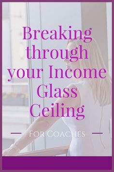 Stuck at an income plateau in your coaching business?  You're not alone.  Hundreds of coaches have come to me with exactly the same problem--and there IS a solution.  Here's how:  http://jessicariverson.com/2016/06/14/how-to-break-through-your-income-glass-ceiling-as-a-coach/