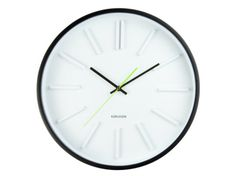 Present Time - Karlsson - Wall clock Embossed Station