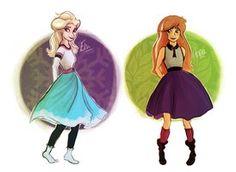 Anna and Elsa by Superior-Silverfox on DeviantArt Frozen Songs, Frozen Movie, Disney Frozen, Frozen Images, Frozen Pictures, Disney Love, Disney Art, Disney Adoption, Frozen Elsa And Anna