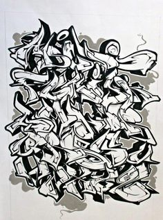 graffiti letters a-z - Pesquisa Google