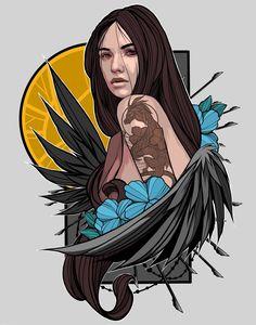 """""""Not a Virgin"""" - Design Ideas - - Canvas Wall Art Quotes, Cthulhu Tattoo, Character Art, Character Design, Graffiti Characters, Airbrush Art, Arte Pop, Vietnam, Dope Art"""
