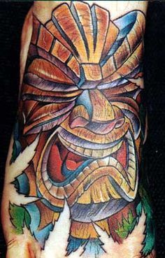 Tiki DesignI Really Like This The Eyes Would Need To Be Open Some