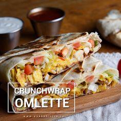 ☀️ ☕ Aţi luat deja micul dejun? Dacă nu, vă propunem o #omletă Crunch Wrap #savuroasă. #breakfast #micdejun #brunch #goodfood #goodmood #POKKA #clujnapoca