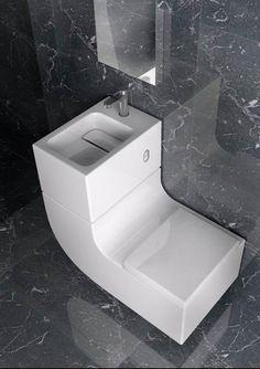 w+w inodoro y lavabo en uno