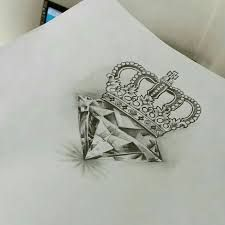Kết quả hình ảnh cho incorporated picture of rose heart diamond initial crown