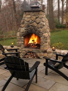 Image result for rustic rock fireplace