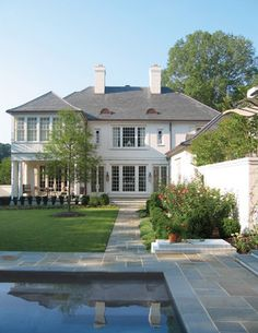 (07) Georgian Residence - traditional - exterior - charlotte - Pursley Dixon Architecture