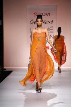 KARISHMA JAMWAL at Lakme Fashion Week 2013 - Day 1