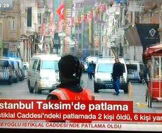 İstanbul İstiklal Cad. Bomba Patladı ölü Ve Yaralılar Var   Haberhan Siyasi Güncel Haber Sitesi