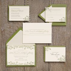 Wedding Invitation Ideas | Paper Source - Love this one!  Informal...