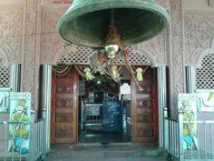 The original temple near the sangam of rivers Bhima & Amaraja where Shri Gurudev Datta Maharaj's 'padukas' were placed! - 30 December, 2012