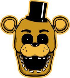 FNAF Golden Freddy shirt design by kaizerin on DeviantArt Fnaf Golden Freddy, Freddy 2, Five Nights At Freddy's, Fnaf Cake, Fnaf Coloring Pages, Scott Cawthon, Horror Video Games, Freddy Fazbear, Pokemon