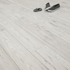 Rough Sawn Bleached Hickory 10mm V Groove AC4 1.76m2 - from Discount Flooring Depot UK