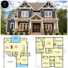 12 Modern Farmhouse Floor Plans