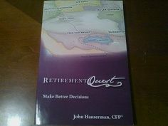This book is a very good general primer for anyone thinking about how to fund their retirement years (even in this economy).  John Hauserman, CFP from Retirement Quest, offers a broad discussion of some of the challenges involved and helps to illustrate the pros and cons of the various strategies related to successful retirement planning.  $14.99 (100% of the proceeds go to The Lauren Edgerton Foundation).