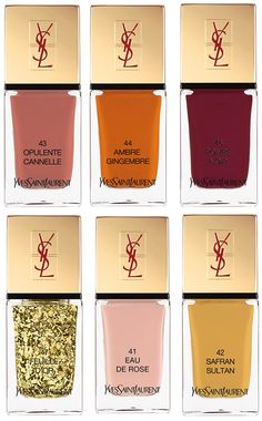 YSL La Laque Couture Spicy Spring 2014 Collection