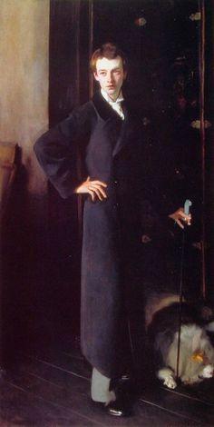 Walford Graham Robertson by John Singer Sargent