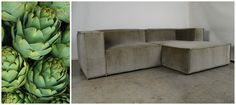 S P R I N G F R E S H.🌿  Our MONDO Chaise Sofa in Artichoke Velvet, featuring inverted seams. #spring #green #modern #velvetsofa #interiors #greeninterior #interiortrends (1) COCOCO Home (@TheCoCoCo) | Twitter