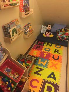 Under stairs playroom                                                                                                                                                      More