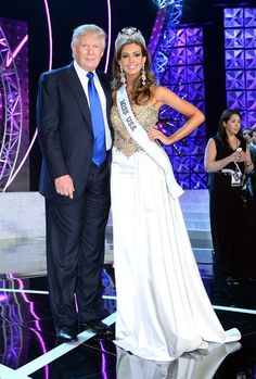 Miss USA 2013 and Mr. Donald Trump Miss Usa 2013, Donald Trump, In This Moment, Formal Dresses, Tops, Fashion, Dresses For Formal, Moda, La Mode