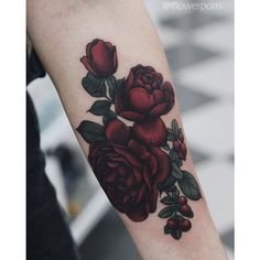 Rose tattoos ❤ liked on Polyvore featuring accessories and body art