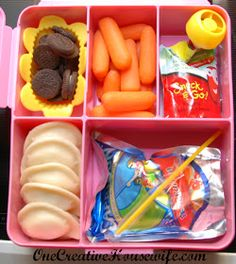 One Creative Housewife Kindergarten Lunches Week 4