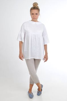 Excited to share the latest addition to my #etsy shop: Bell sleeve linen tunic, white linen summer tunic, plus size linen tunic, linen womens clothing, linen tunics for women, linen babydoll top http://etsy.me/2iWDL1z #clothing #women #dress #feellinen #linenwomenclothing #p