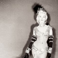 "The original costume for the actress to wear to sing ""Diamonds Are Girl's Best Friend"""