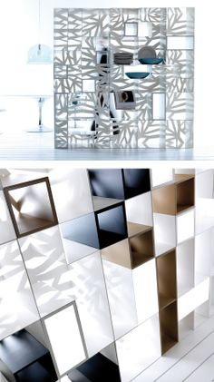 Open freestanding sectional #bookcase DOMINO by Esedra by Prospettive   #design Fabrizio Batoni @esedradesign