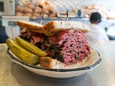 Go on a pastrami crawl through NYC's best delis!