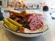 Go on a pastrami crawl through NYC's best delis!
