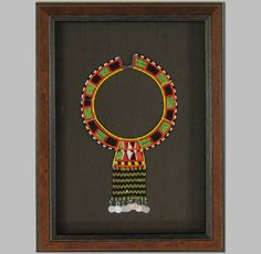 Massai Tribal Necklace. | The Great Frame Up | Naples, FL | www.naples.thegreatframeup.com/ |