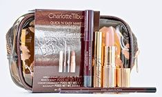 Charlotte Tilbury Quick N Easy Smokey Eye Evening Look Makeup Set *** You can get additional details at the image link. (This is an affiliate link) 5 Minute Makeup, Easy 5, Brush Sets, Makeup Application, Makeup Brush Set, Charlotte Tilbury, Smokey Eye, Best Makeup Products, Image Link