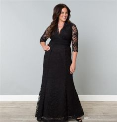 20+ Plus Size Black Wedding Dresses - Best Wedding Dress for Pear Shaped Check more at http://svesty.com/plus-size-black-wedding-dresses/