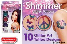 Bikin Pestamu & Si Kecil Jadi Lebih Berwarna Dan Meriah Dengan Shimmer Glitter Tattoo Hanya Rp.30,000 - www.evoucher.co.id #Promo #Diskon #Jual  Klik > http://evoucher.co.id/deal/Tato-instant  Tatto instant & temporer yang lucu dan dengan glitter yang berkilauan akan membuat penampilan si kecil jadi lebih lucu & imut. Mudah digunakan serta mudah dihapus  pengiriman mulai 2013-12-20