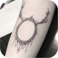 Deer Frame Tattoo