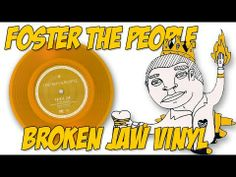 A review of Foster the People's RSD 2012 record, Broken Jaw!