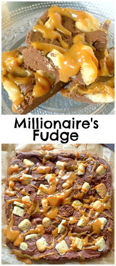 Easy Easy Millionaire's Shortbread Fudge recipe with only four ingredients that's ready in just 10 minutes! So easy, anyone can make it!
