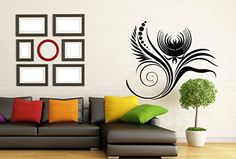 Wall Vinyl Decal Sticker Flower Abstract Style Art Design Room Nice Picture Decor Hall Wall Chu1429 Thumbs up decals http://www.amazon.com/dp/B00FUL377W/ref=cm_sw_r_pi_dp_hxdYtb1D30YEQBNM