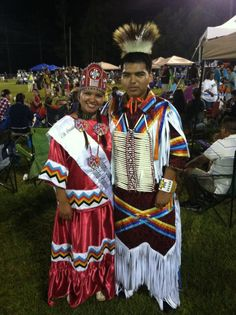 My niece and nephew; Princess of the Alabama Coushatta Tribe of Texas