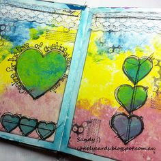 Lonely Cards and other arty crafty things.: Creating...