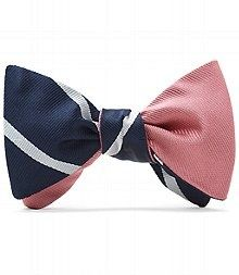 brooks brothers reversible bow tie