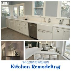 Kitchen remodeling guides will help you get your dream kitchen within your affordability. Kitchen Remodeling, Double Vanity, Kitchen Cabinets, Home Decor, Decoration Home, Room Decor, Cabinets, Home Interior Design, Kitchen Renovations