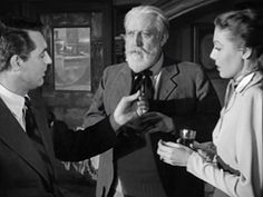 Cary Grant, Month Woolley & Loretta Young - The Bishop's Wife - 1947