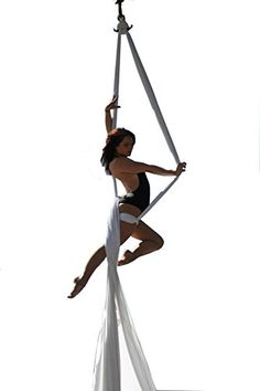 Yoga Straps  Dasking Premium Aerial Silks Equipment  Safe Deluxe Aerial Kit white *** Locate the offer simply by clicking the VISIT button
