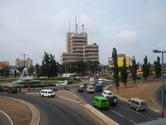   Kwame Nkrumah Circle in Accra, Ghana.
