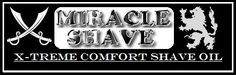 MIRACLE SHAVE X-TREME COMFORT SHAVE OIL!